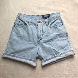 Vintage Eddie Bauer high waisted denim shorts